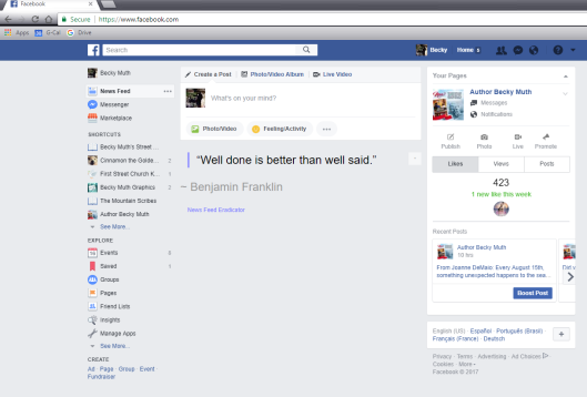 FB news feed eradicator